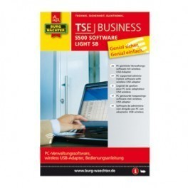 Oprogramowanie TSE SOFTWARE 5500 Burg-Wachter