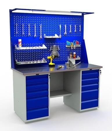 Stół warsztatowy PRAKTIK WT-160/WD5/WD5.021