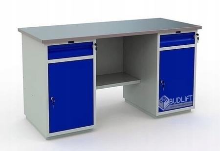 Stół warsztatowy PRAKTIK WT-160/WD2/WD2.000