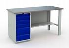 Stół warsztatowy PRAKTIK WT-160/WD5/F1.000