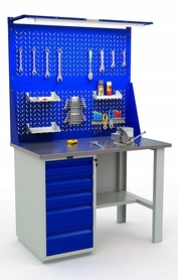 Stół warsztatowy PRAKTIK WT-120/WD5/F1.021