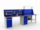 Stół warsztatowy PRAKTIK WT-180+120/WD2/WD5/F1.021