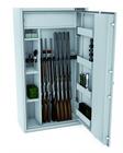 Szafa na broń CERTYFIKAT S1 KONSMETAL 150D/10+4  zamek elektroniczny (1)