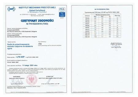 Sejf ognioodporny VALBERG FRS 32 EL kl. S2 LFS 60P (2)