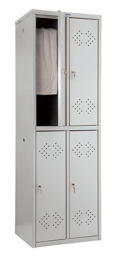 SZAFA metalowa socjalna ubraniowa BHP PRAKTIK LS22 (1)