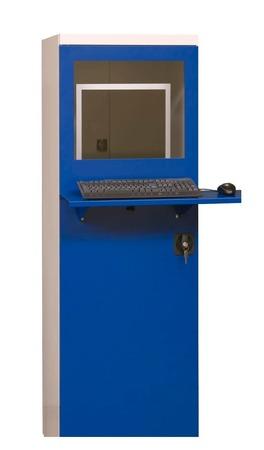 Szafa ochronna na komputer przemysłowy MALOW SmK 2 z wentylatorem i listwą (1)