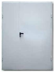Drzwi dwuskrzydłowe do firmy DL 1.1/2 kl. RC2