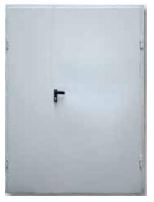 Drzwi dwuskrzydłowe do firmy DL 1.1/2 kl. RC2 (1)