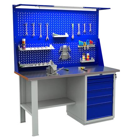Stół roboczy narzędziowy PRAKTIK WTS-160/WS6 (1)