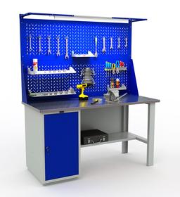 Stół roboczy warsztatowy PRAKTIK WT-160/WD1
