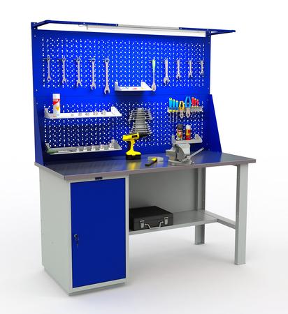Stół roboczy warsztatowy PRAKTIK WT-160/WD1 (1)