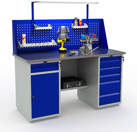 Stół warsztatowy narzędziowy PRAKTIK WT160/WD2/WD5 (1)