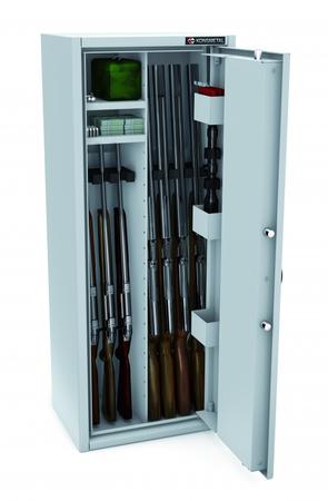 Szafa na 8 sztuk broni MLB 125P/4+4 CERTYFIKAT S1 (1)