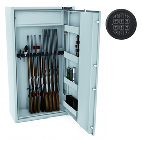 Szafa na broń MLB 150S/14 E zamek ELEKTRONICZNY