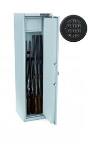 Szafa na broń MLB 150/6/S E zamek ELEKTRONICZNY