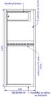 Szafa na broń MLB 150S/10 E zamek ELEKTRONICZNY (2)