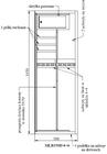 Szafa na broń KONSMETAL 150D/4+4 CERTYFIKAT S1 (3)