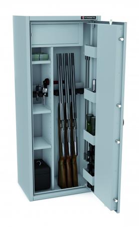 Szafa na broń CERTYFIKAT S1 KONSMETAL 150D/6+4 (1)