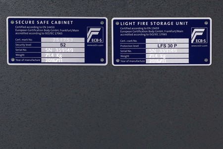 Sejf ognioodporny 30 min klasa S2 Home Safe 90 KL (7)
