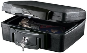 kaseta Master Lock ognioodporna i wodoodporna H100